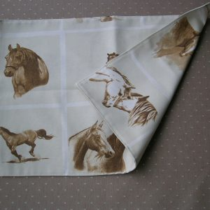 placemats paard  / stof gobelin